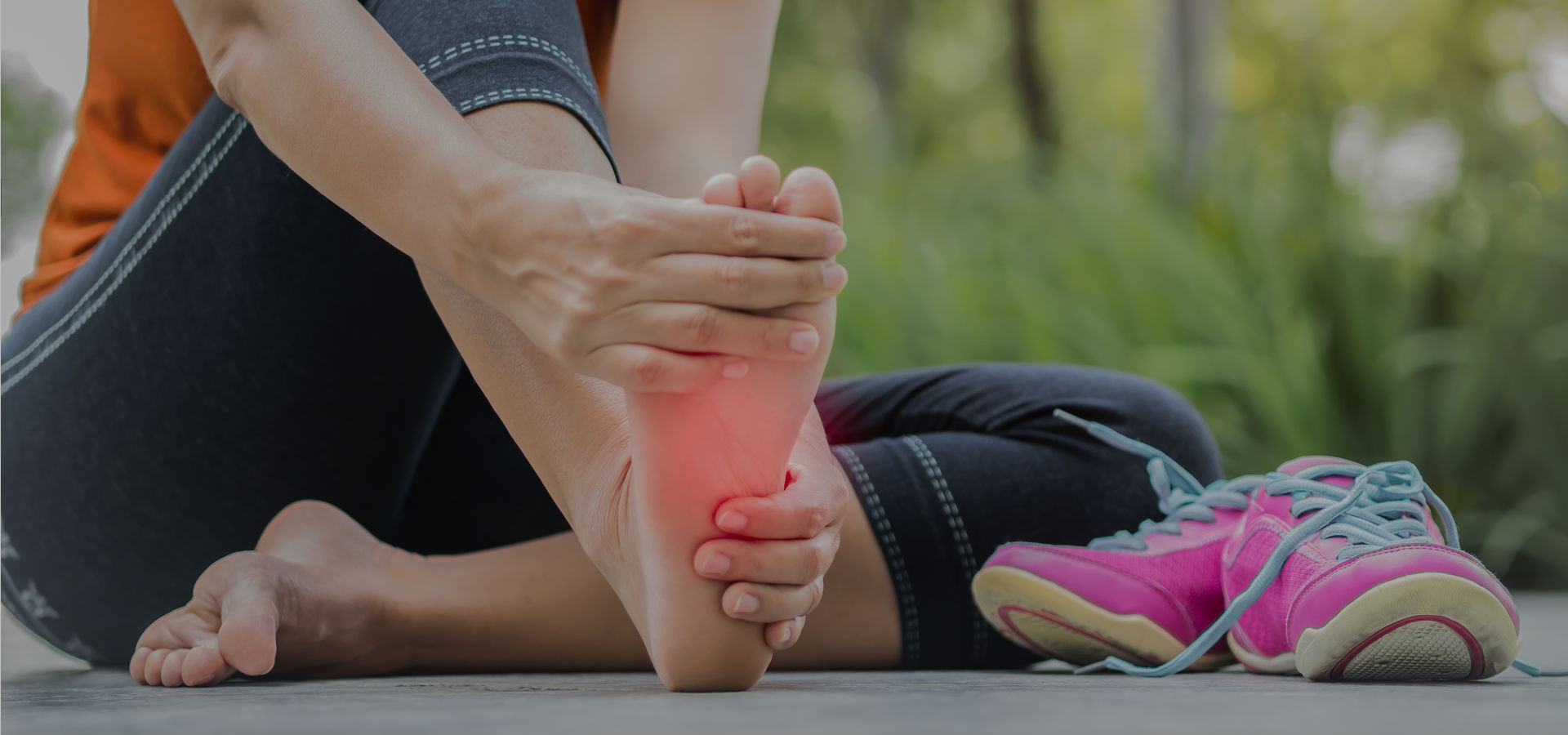 SUFFERED A SPORTS INJURY TO YOUR FEET?